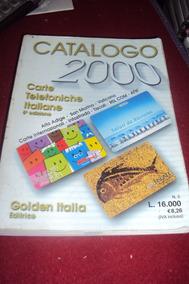 Livro - Catálogo Telefônico - Cartões Italianos - Colorido