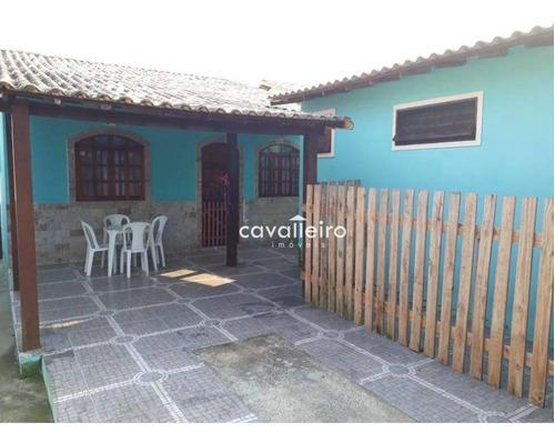 Casa Com 3 Dormitórios À Venda, 90 M² - Ponta Negra (ponta Negra) - Maricá/rj - Ca3844