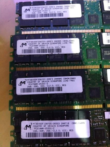 Memoria Ddr Para Servidor Marca Micron 2gb Pc2700