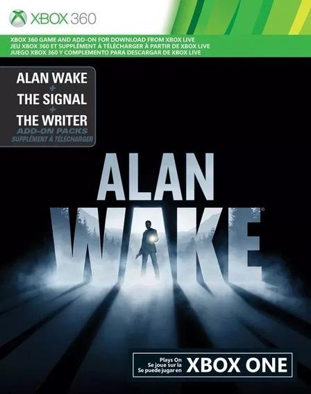 Alan Wake + Dlcs: The Signal E The Writer. Cod De 25 Dígitos