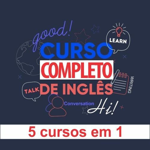 Pack Cursos De Inglês - 5 Cursos Em 1