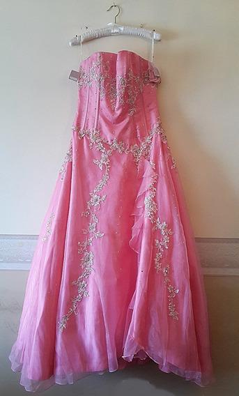Bellísimo Vestido 15 Años Madrina T14 (t 46-48) Nuevo, Usa