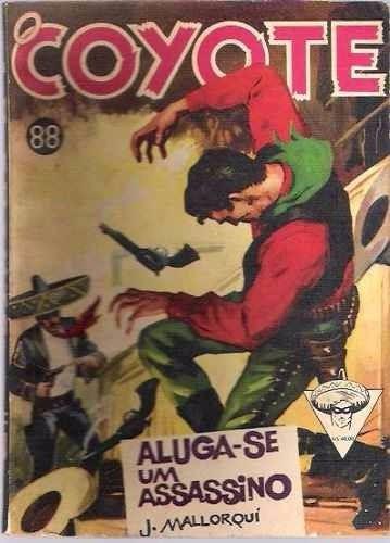Revista O Coyote Nº 88 Aluga-se Um Assassino