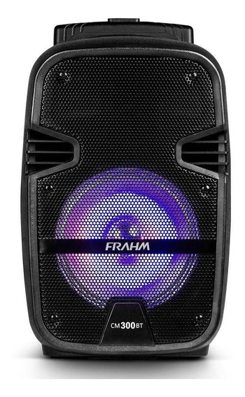 Caixa Som Amplificada Portátil Frahm Cm300 Bt Usb Fm 300w