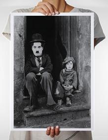 Pôster Do Filme O Garoto, De Charles (charlie) Chaplin