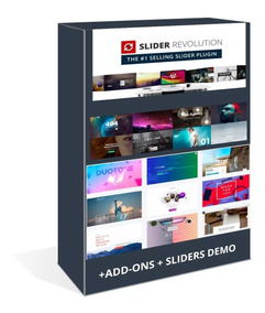 Slider Revolution Wordpress Plugin V5.4.8.3 + Add-ons + Pack