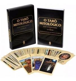Box Tarô Mitológico. Baralho Com 78 Cartas Coloridas C/ Livr