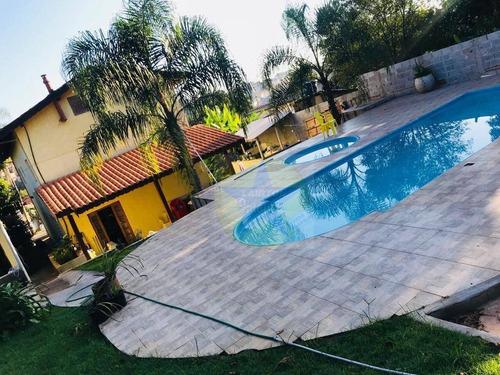 Chácara Com 4 Dormitórios À Venda, 1050 M² Por R$ 690.000,00 - Jardim Estância Brasil - Atibaia/sp - Ch0093
