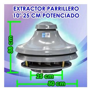 Extractor Motor Parrillero Industrial Campana Cocina Env Gra