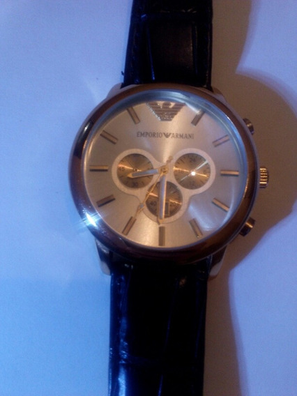 Reloj Armani, Con Fechador, Delux.