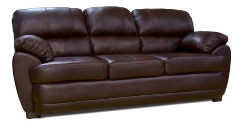 Sofa De Piel - Florencia - Conforto Muebles - $ 10,990.00 ...