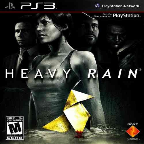 Jogo Heavy Rain - Ps3 Mídia Física Usado