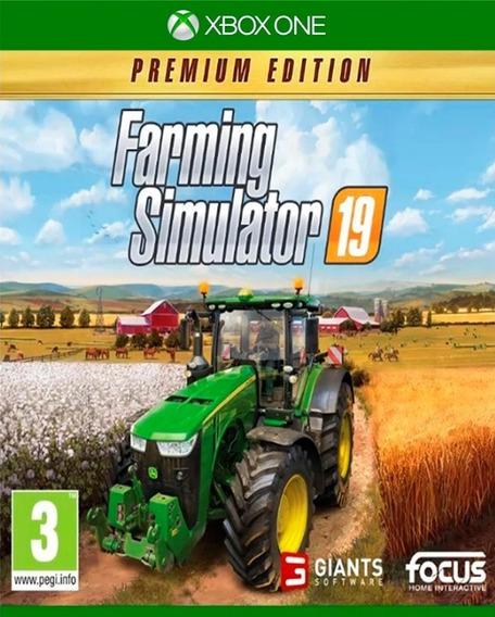 Farming Simulator 19 Premium Edition Xbox One Online+ Brinde