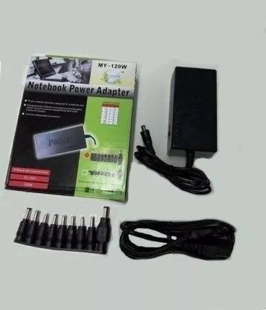 Carregador Universal Portátil Notebook My-120w 9 Conectores