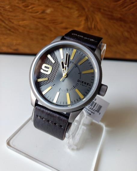 Relógio Masculino Diesel Dz1843 - Pulseira Em Couro