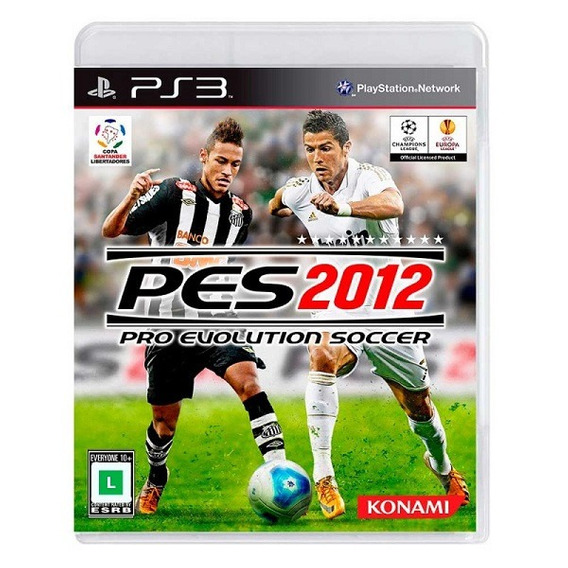 Pes 2012 (ps3) - Playstation 3 - [midia Fisica] - Lacrado!