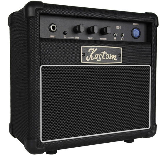 Amplificador De Guitarra Distorsion Kustom 10w Profesional
