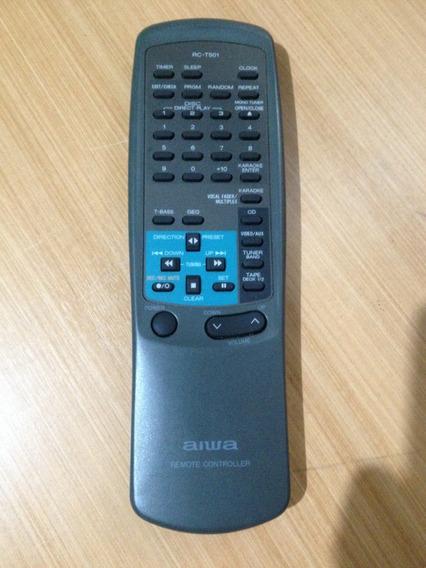Controle Remoto Aiwa Rc-t501