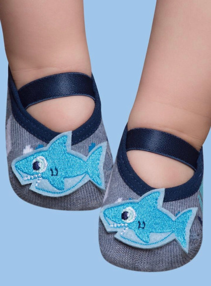 Calcetas Puket Para Bebés Niños 5.8 Meses