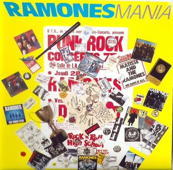 Ramones Ramonesmanía Greatest Hits Cd Nuevo Joey Ramone