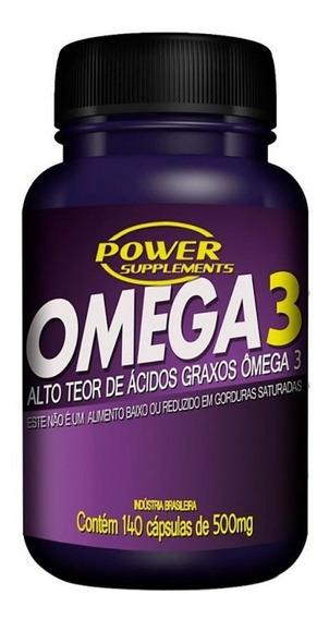 Ômega 3 500mg (70caps+70 Grátis) Power Supplements