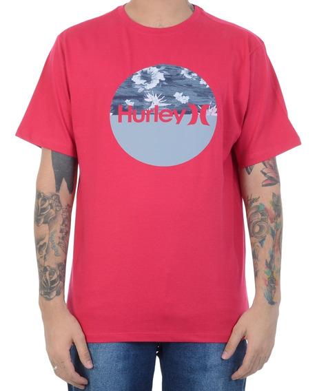 Camiseta Hurley Premium Folhas