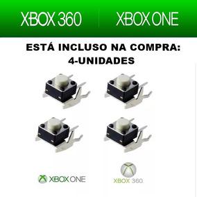 4 Unidades Botão Rb Ou Lb |shoulders Controle Xbox One 360
