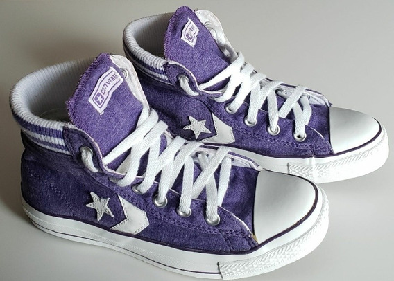 All Star Converse Player Mid Sock 36