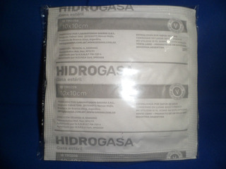 Gasa Estéril Hidrogasa De Gasana 10 Por 10 Cm (100 Sobres)
