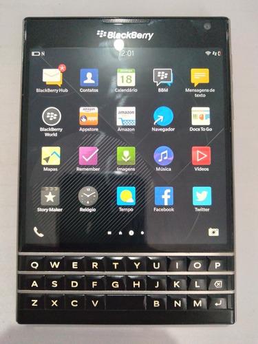 Telefone Celular Blackberry Passport Funcionando Perfeito