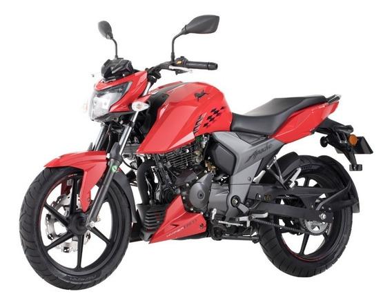 Motocicleta Apache Tvs 160 4v Roja 2020 Medellin Bogota