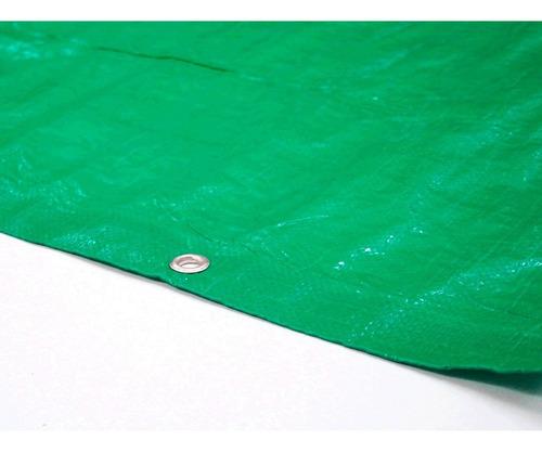 Cubre Cerco Rafia Verde 1,50x50 Mts C/ojales 130grs Nebraska