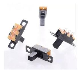 100 Mini Chave Interruptor Liga/desliga 2 Posições 3 Pinos