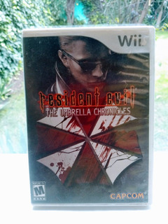 Resident Evil The Umbrella Chronicles Nintendo Wii