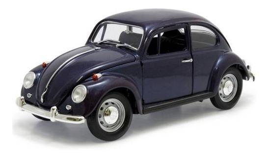 1967 Volkswagen Beetle Fusca Azul - Escala 1:18 - Yat Ming