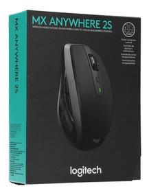 Mouse Logitech Anywhere Mx 2s Recerregavel Bluetooth Sem Fio