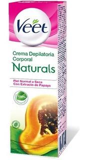 Veet Crema Depilatoria Naturals Piel Normal A Seca X 100m