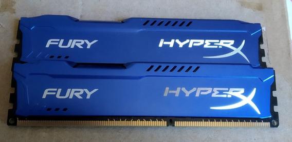 Memoria Ram Kingston Hyperx Fury 8gb (4 X 2) 1600mhz
