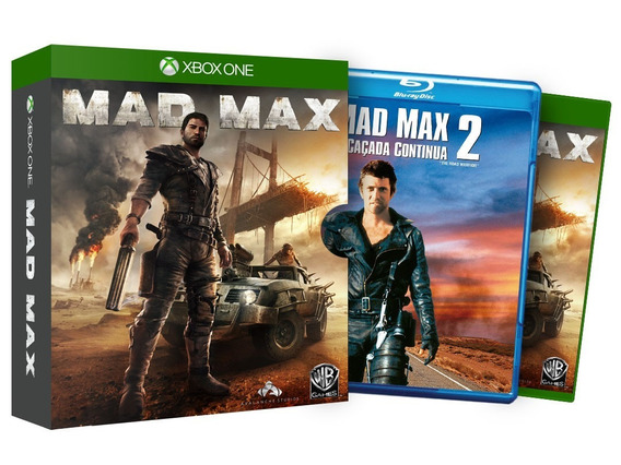 Game Xbox One Mad Max + Filme Mad Max 2 A Caçada Continua