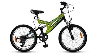 Bicicleta Aurora R20 Mtb Dsx 6v Doble Susp. 5926 Ll/alum