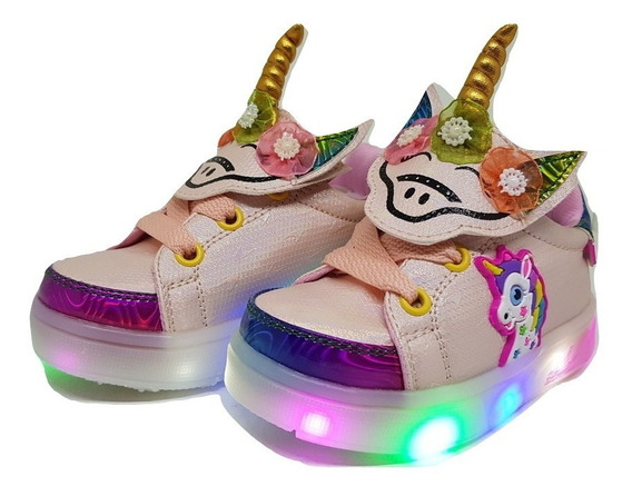 Zapatillas Con Luces Led Nenas/niñas My Little Pony Del 21 Al 32