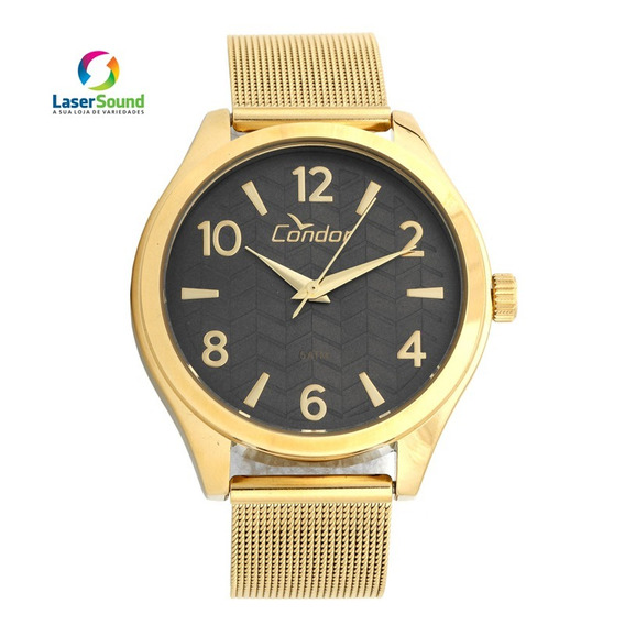 Relógio Condor Feminino Co2036ksw/4p, C/ Garantia E Nf