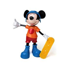 Brinquedos Bebês Mickey Baby Radical Boneco Falante Elka