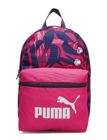 Mochila Puma Infantil Feminina Phase Small Rosa Escolar