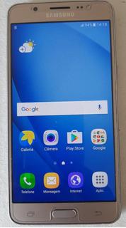 Usado: Samsung Galaxy J5 2016 Metal Dourado Muito Bom
