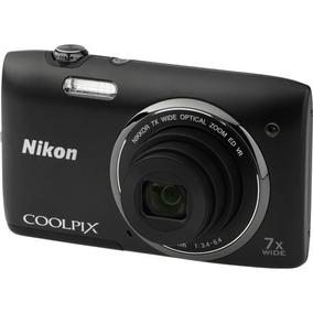 Camera Digital Nikon Coolpix S3500 20.1 Megapixels
