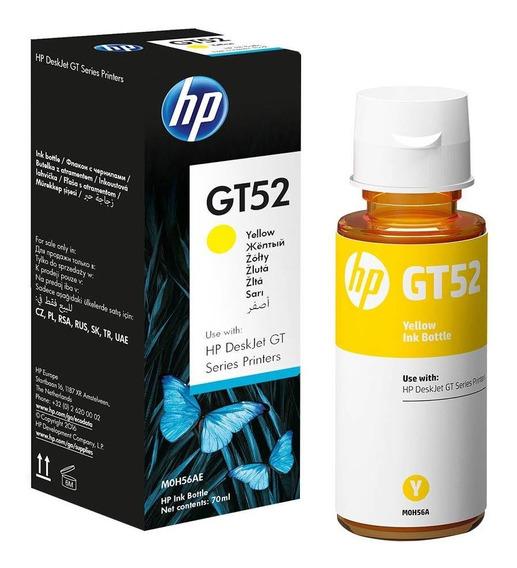 Recarga De Tinta Para Impresora Hp Gt52 Amarillo 5810/5 Nnet