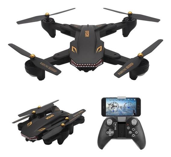 Drone Tianqu Visuo Xs809s + Três Baterias - Leia A Descrição