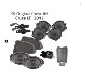 Kit Sistema Áudio Jbl Car Sound Cruze Sedan Lt - Pç 52103517