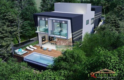 Imagem 1 de 10 de Casa Com 3 Dormitórios À Venda, 350 M² Por R$ 1.800.000 - Parque Residencial Itapeti - Mogi Das Cruzes/sp - Ca3997